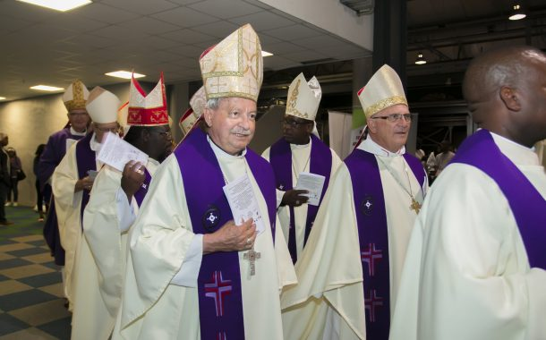 Bishop Sandri of Witbank Diocese is being laid to rest today