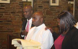 The first Stigmatine from Msolwa Tanzania is ordained to Diaconate by Archbishop Dabula Mpako of Pretoria