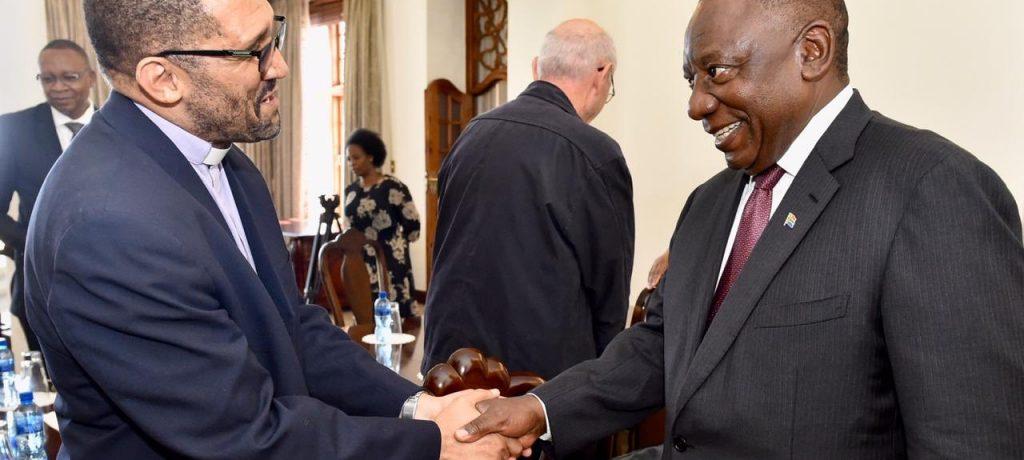 Catholic Church Bishops meet President Ramaphosa