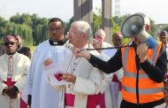 SACBC Pastoral Plan Launch;  Challenge to live our faith in action continues, by Bishop Kevin Dowling before procession