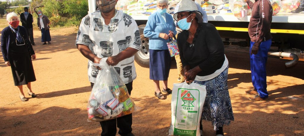 Catholic Church partners with UN Women to help the needy of Winterveldt amid COVID-19 Lockdown