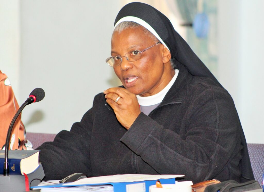 Sr Hermenegild Makoro CPS retires as the SACBC Secretary General at the end of 2020, Sr Tshifhiwa takes over her place, Fr Hugh O'Connor, the new Associate Secretary General