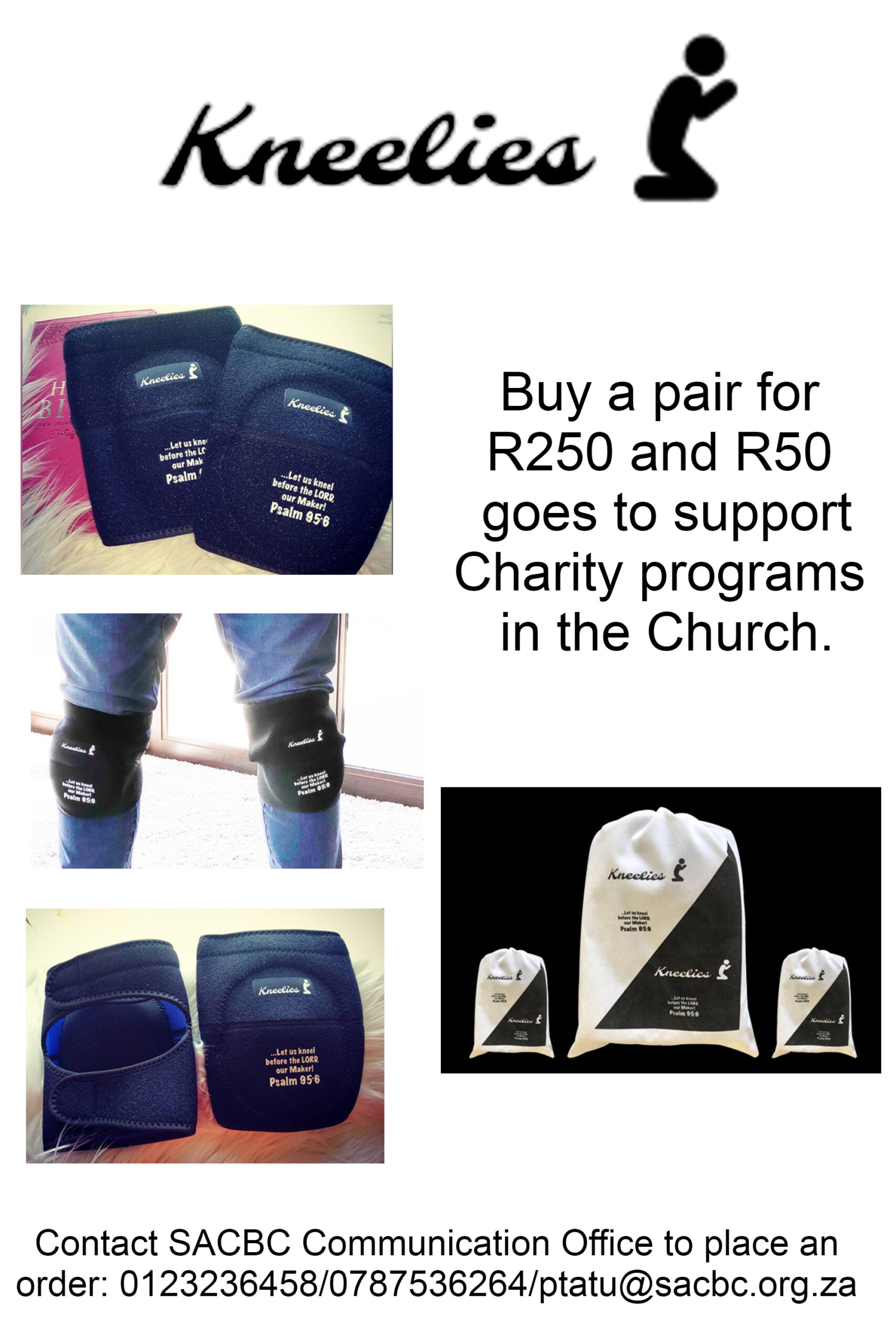 Get yourself a pair of Kneelies and pray better and comfortably