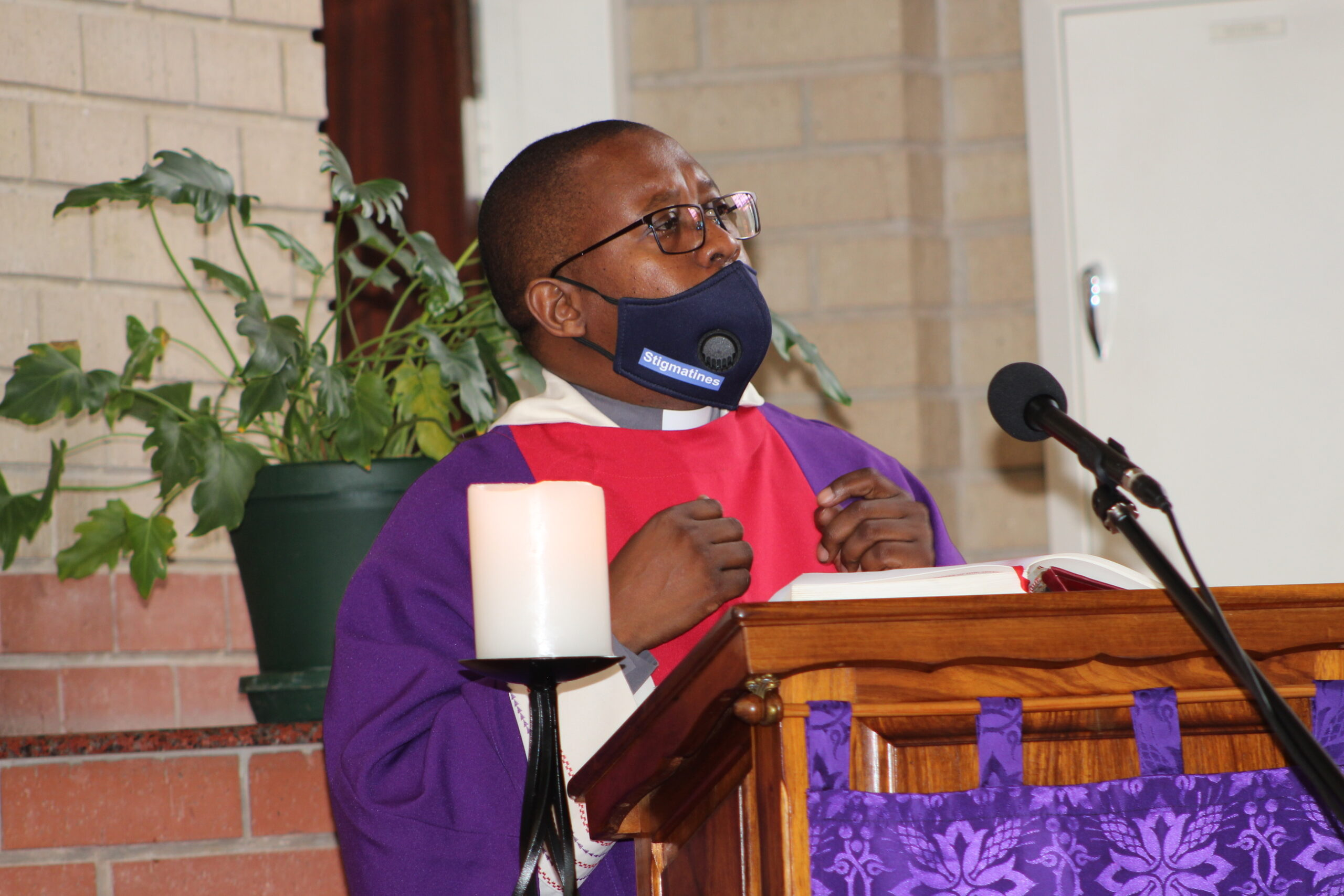 Fr Patrick Rakeketsi CSS, SACBC Director of AIDS Office